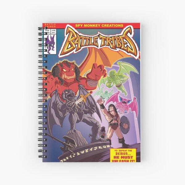 Battle Tribes - Return of the Demon Spiral Notebook