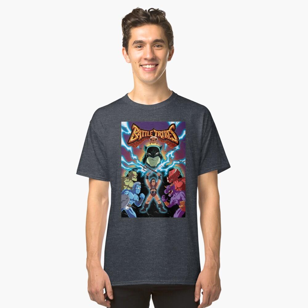 Battle Tribes Illustration (Distressed) Classic T-Shirt
