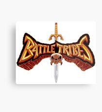 Battle Tribes Sword Logo  Metal Print