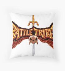 Battle Tribes Sword Logo  Throw Pillow