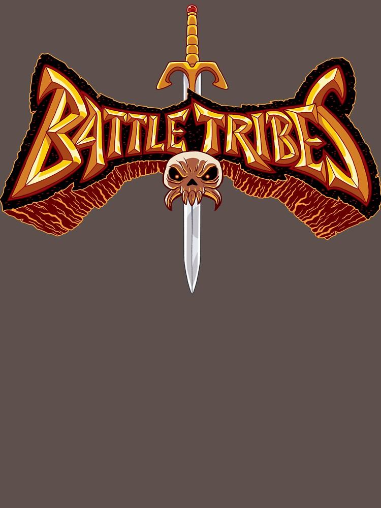 Battle Tribes Sword Logo  by spymonkey