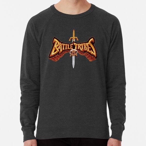 Battle Tribes Sword Logo  Lightweight Sweatshirt