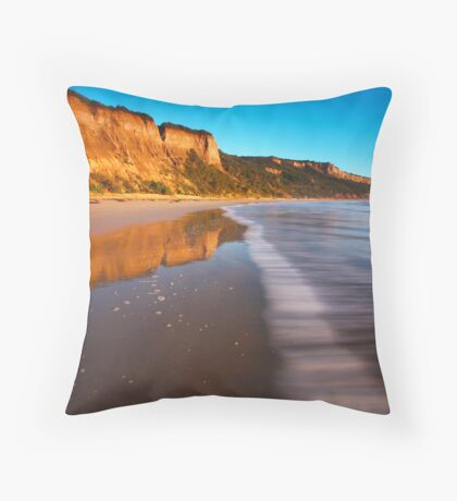 Line of Waves Throw Pillow