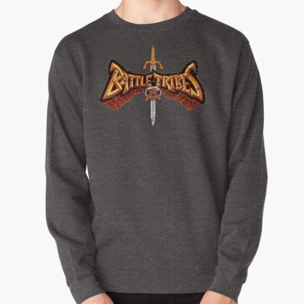 Battle Tribes Sword Logo (Distressed) Pullover Sweatshirt