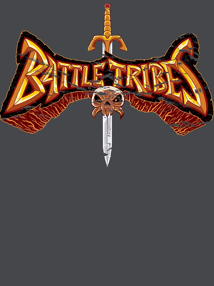 Battle Tribes Sword Logo (Distressed) by spymonkey
