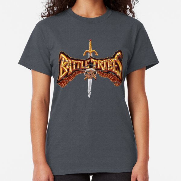 Battle Tribes Sword Logo (Distressed) Classic T-Shirt