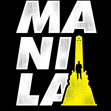 Manila Roots Living in the Abroad Filipino T-Shirt by TheTeeSupplyCo