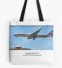 Emirate B777 Tote Bag