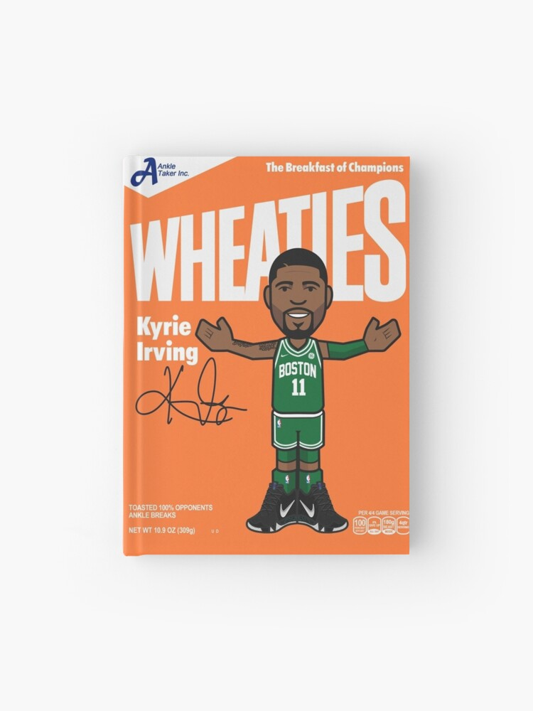 separation shoes 7f453 9cecb Kyrie Irving Wheaties Box | Hardcover Journal