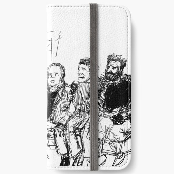 Kreeps with Kids iPhone Wallet