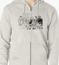 Kreeps with Kids Zipped Hoodie