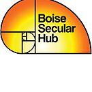 Boise Secular Hub plain with Sunrise by IdahoHumanists