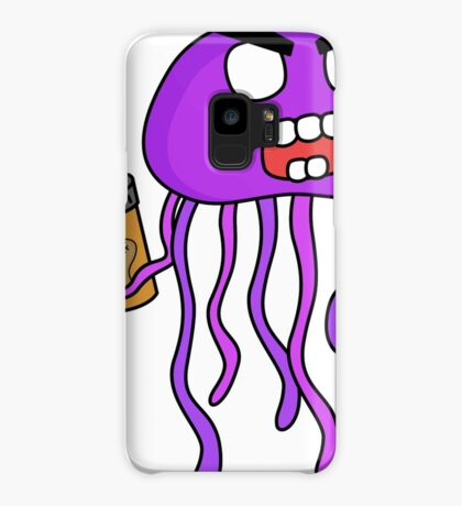 angry zombie jellyfish Case/Skin for Samsung Galaxy