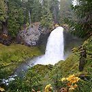 Sahalie Falls by Chappy