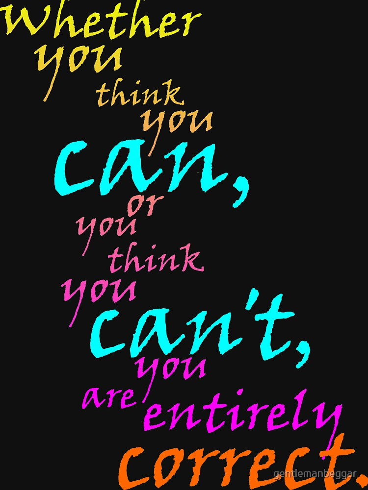 You CAN do it! by gentlemanbeggar