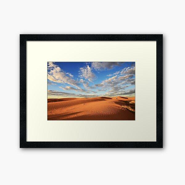 On the dune Framed Art Print
