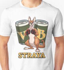 Cartoon Australian Boxing Kangaroo  Slim Fit T-Shirt