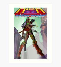 Nira X poster 1 Art Print
