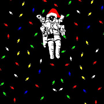 Christmas Space Shuttle Astronaut by focodesigns