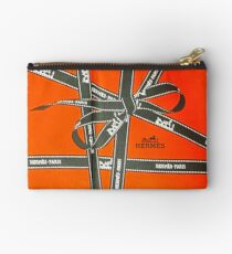 Hermes Tape Box Collage Studio Pouch