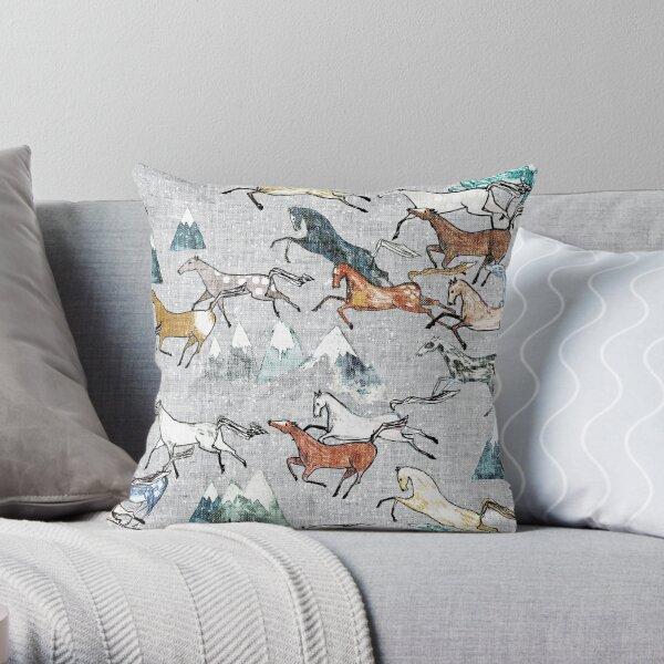 Mt Kosciuszko Brumbies Throw Pillow