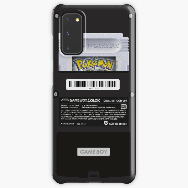 Black Gameboy Color - Silver Cartridge Samsung Galaxy Snap Case
