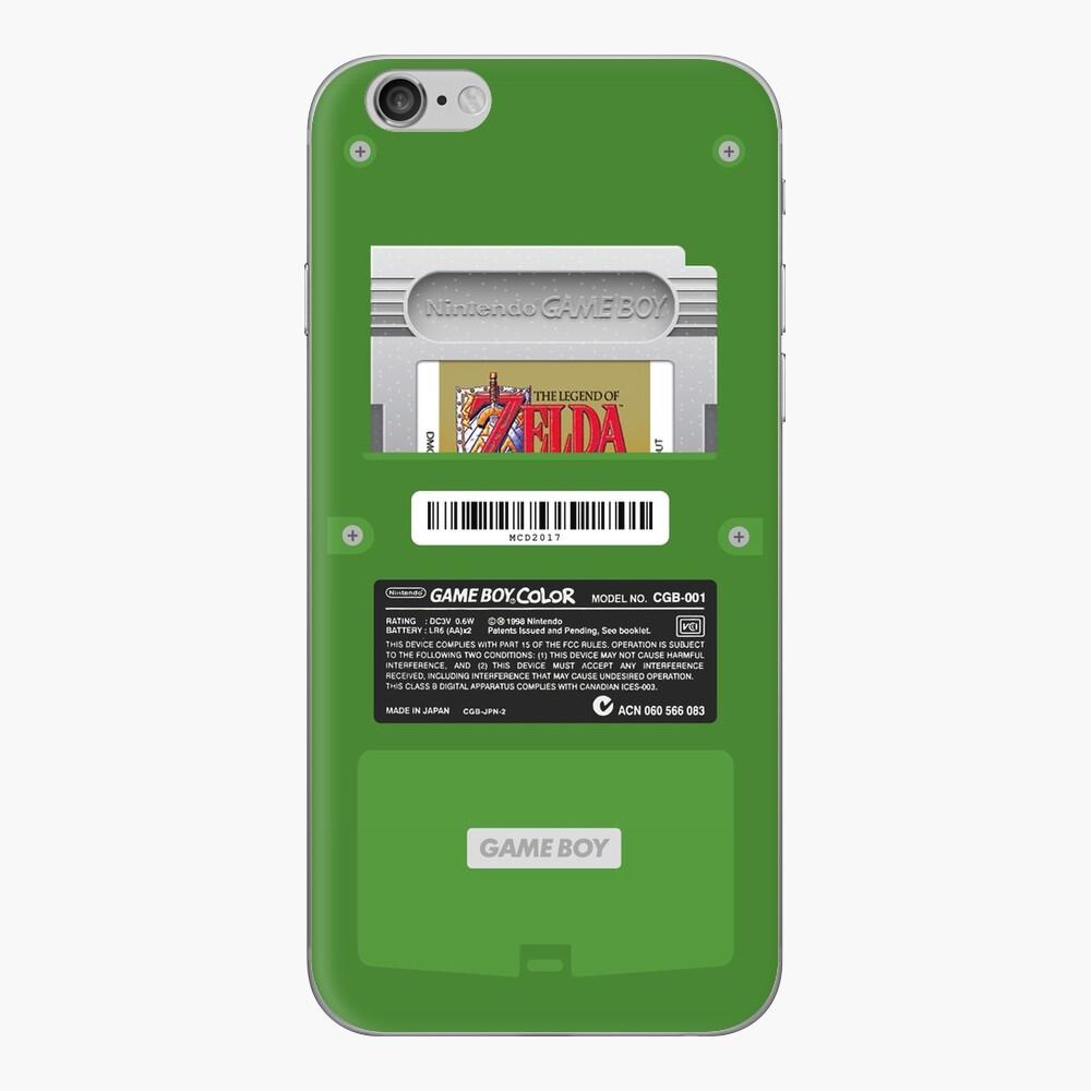 Green GameBoy Color Back - Erwachen des Links iPhone-Hüllen & Cover