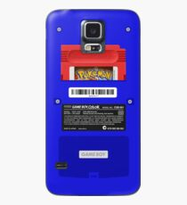 Funda/vinilo para Samsung Galaxy Blue GameBoy Color Back - Cartucho rojo