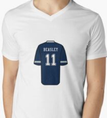 Cole Beasley Jersey Men s V-Neck T-Shirt c29f7a332