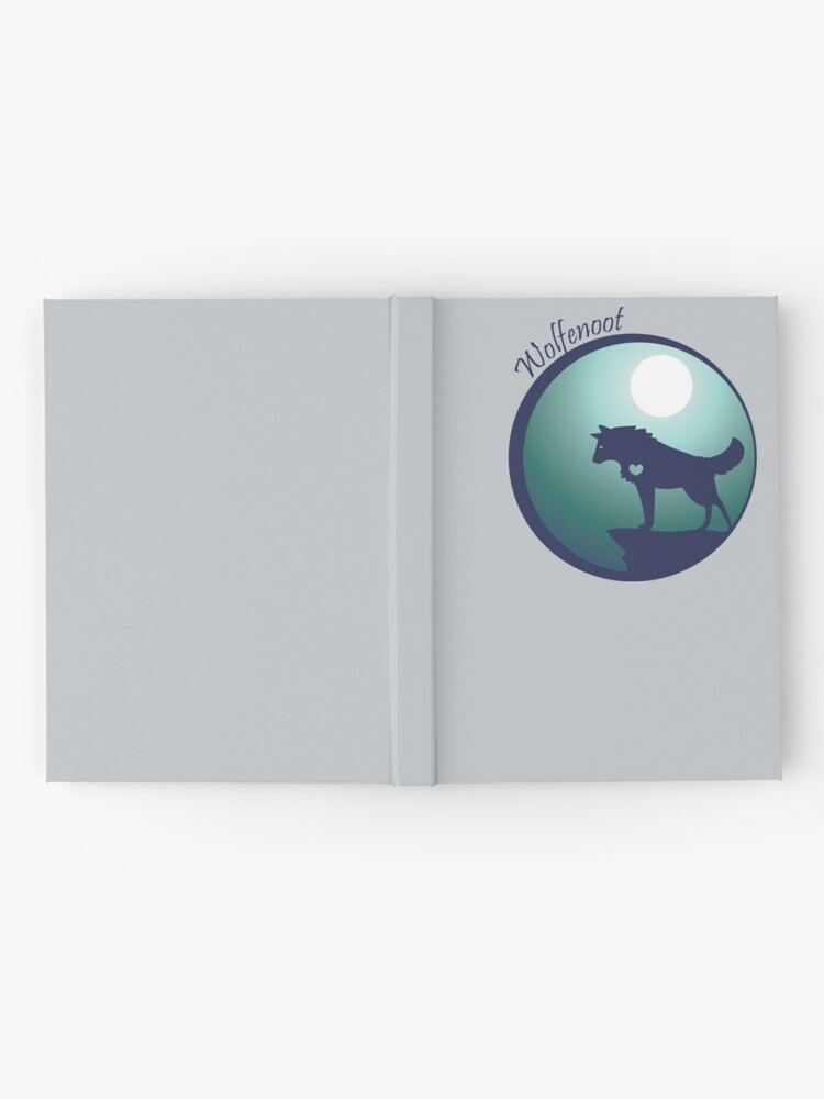 Alternate view of Wolfeloot Hardcover Journal