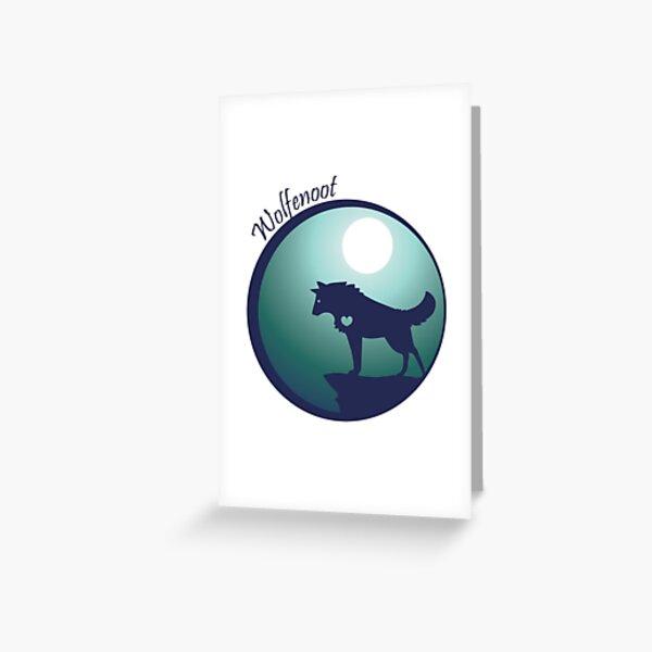 Wolfeloot Greeting Card