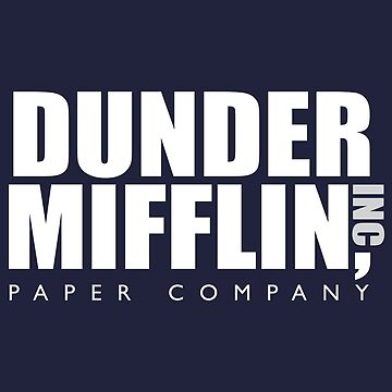 Dunder Mifflin by lifeasawriter