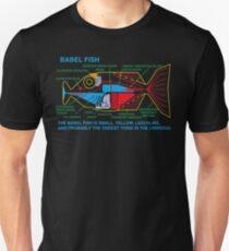 Camiseta ajustada NDVH Babel Fish H2G2