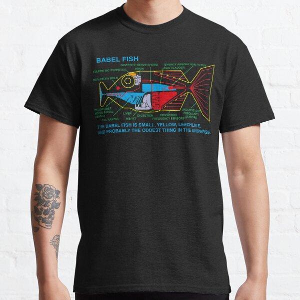 NDVH Babel Fish H2G2 Classic T-Shirt