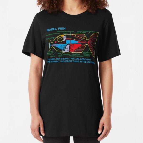 NDVH Babel Fish H2G2 Slim Fit T-Shirt