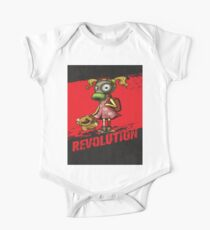 Revolution Fight Pollution Rise Against Pollution Polluted World One Piece - Short Sleeve