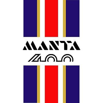 Manta 400 stripes by purpletwinturbo