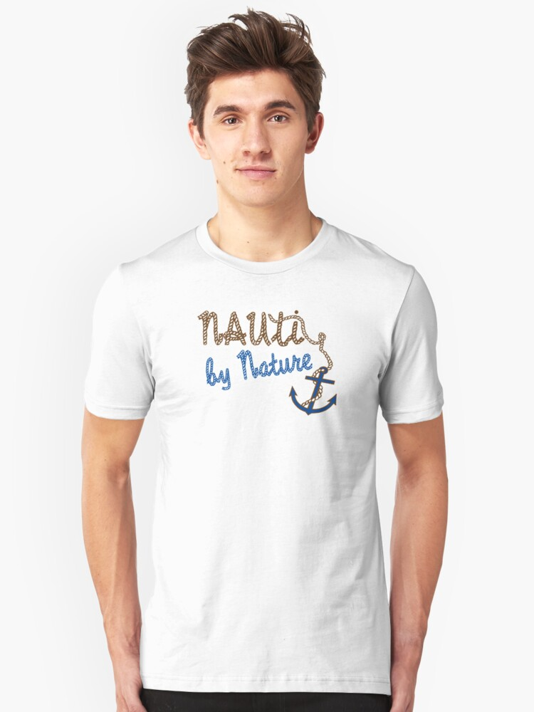 'Nauti By Nature Boaters tee' T-Shirt by sailfast