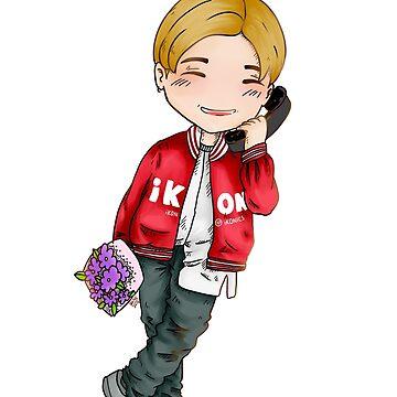iKon Jinhwan Love Scenario Chibi art by frozenpillows