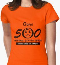 500 - Internal server error Women's Fitted T-Shirt
