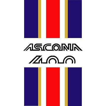 Ascona 400 stripes by purpletwinturbo