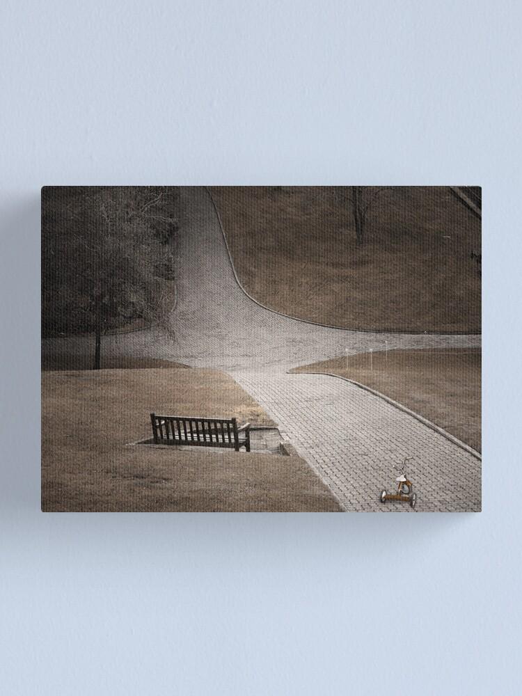 Alternate view of Crossroads Canvas Print