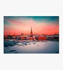 Stockholm Morning Photographic Print