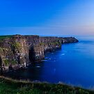 Last Light At The Cliffs Of Moher by Adrian McGlynn