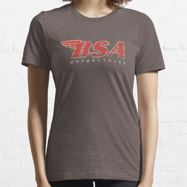 BSA Motorcycle Distressed Design Logo T Shirt Essential T-Shirt