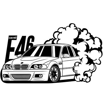E46 Best Shirt Design by CarWorld