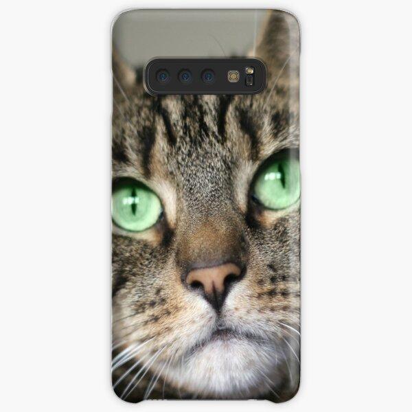Tabby Beauty Green Eyes Samsung Galaxy Snap Case