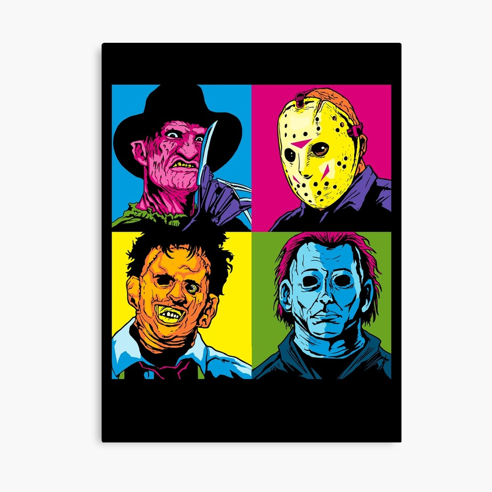 POP HORROR Canvas Print