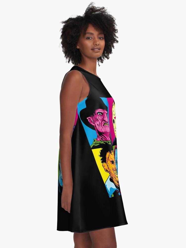 Alternative Ansicht von POP HORROR A-Linien Kleid