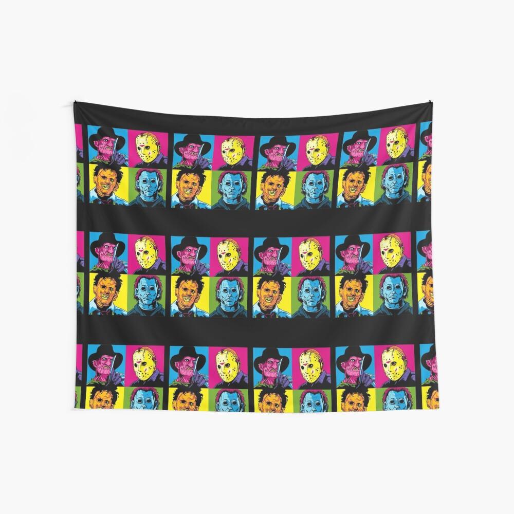 POP HORROR Wall Tapestry
